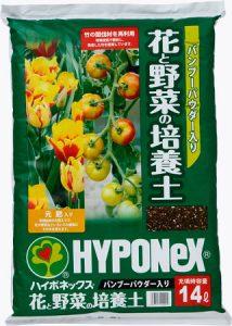 ハイポネックスジャパン バンブーパウダー入り花と野菜の培養土